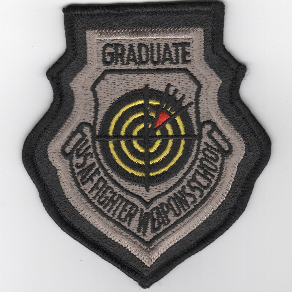 USAF Fighter Weapons School Graduate-Leather Border