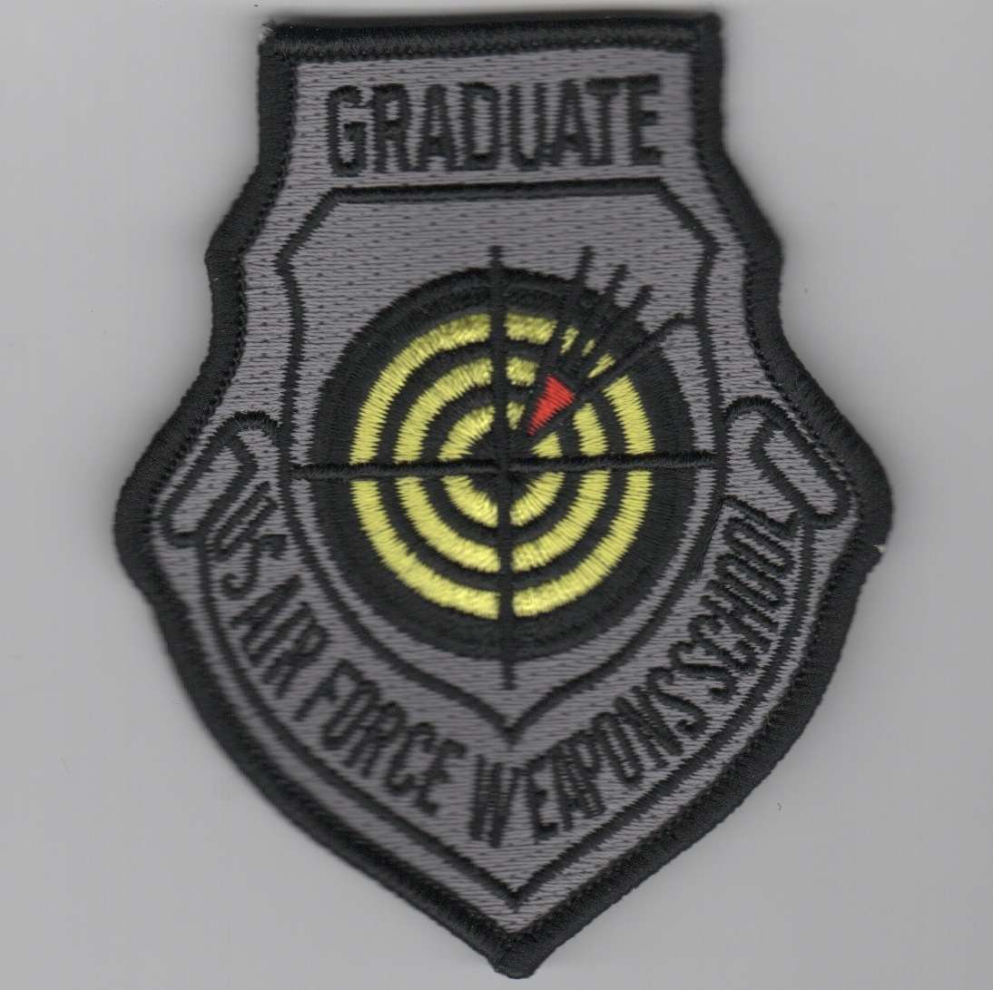 USAF WIC Instructor Patch (Gray/No Velcro)