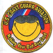 USCG Aviation 'Bad Day' Patch