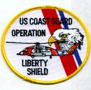 USCG Op. Liberty Shield Patch