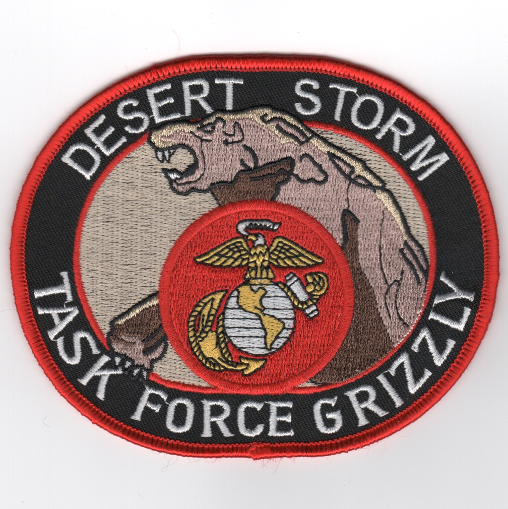 DESERT STORM 'Task Force GRIZZLY' Patch
