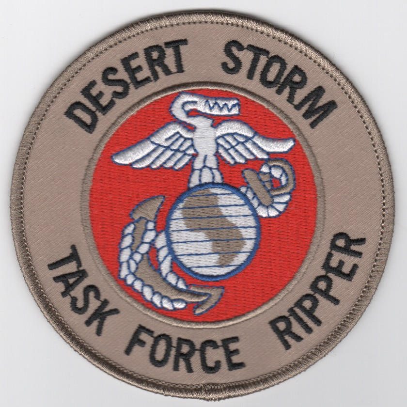 DESERT STORM 'Task Force RIPPER' Patch