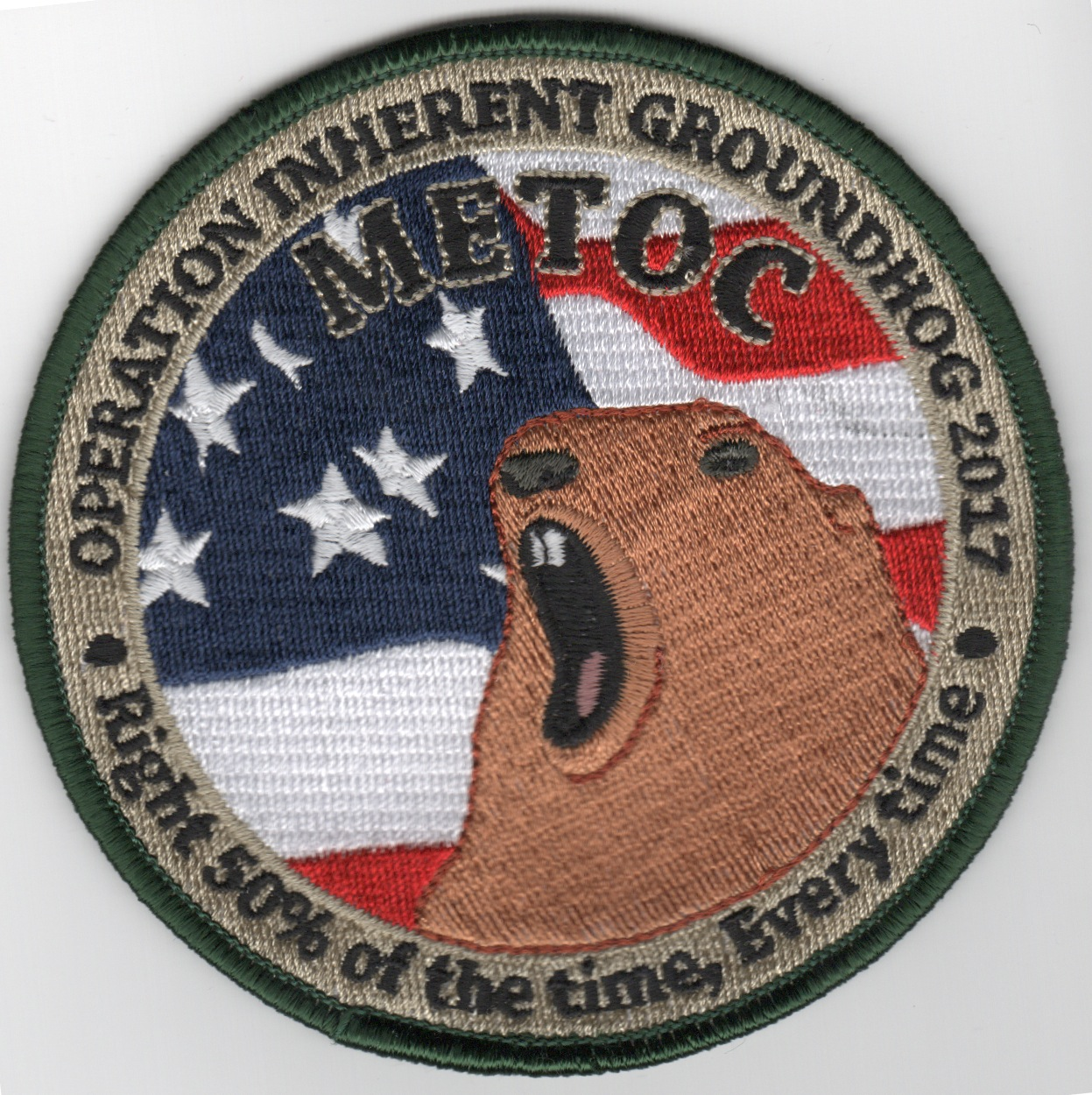 USN METOC 2017 Groundhog Day