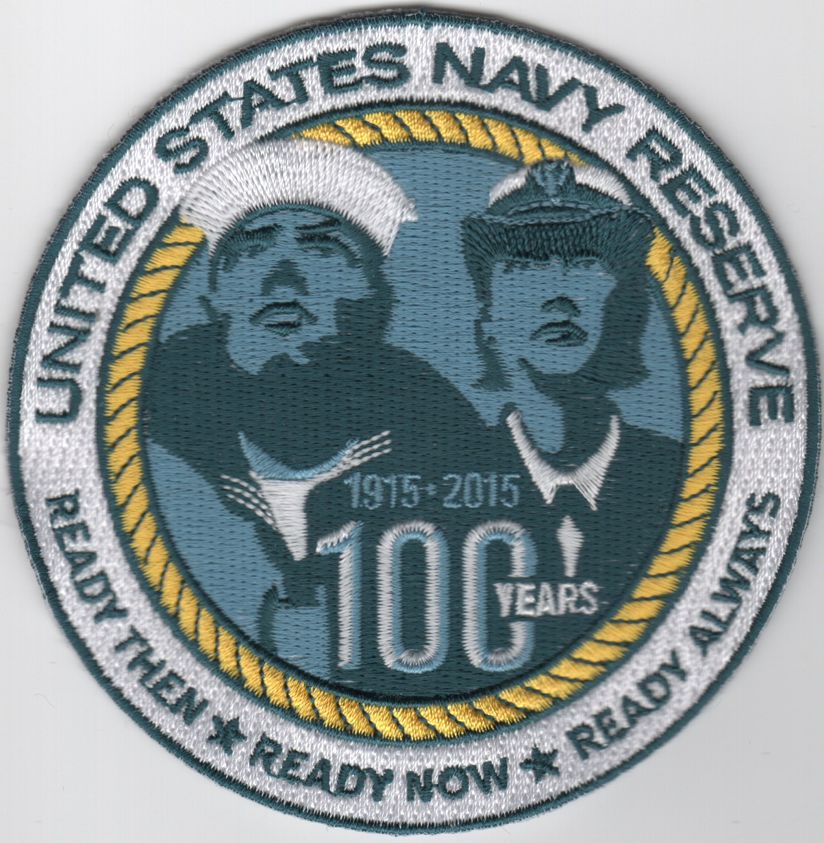 Naval Air Reserve 100th Anniversary (Round)