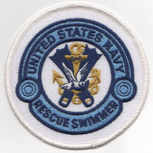 USN Rescue Swimmer (White)