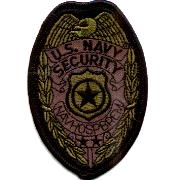 USN Security Forces Badge