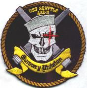 USS Seattle Ship Patch