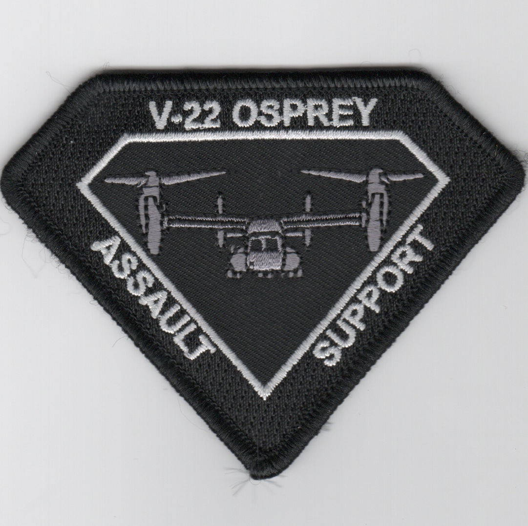 V-22 OSPREY 'Assault Support' (Black/Diamond)