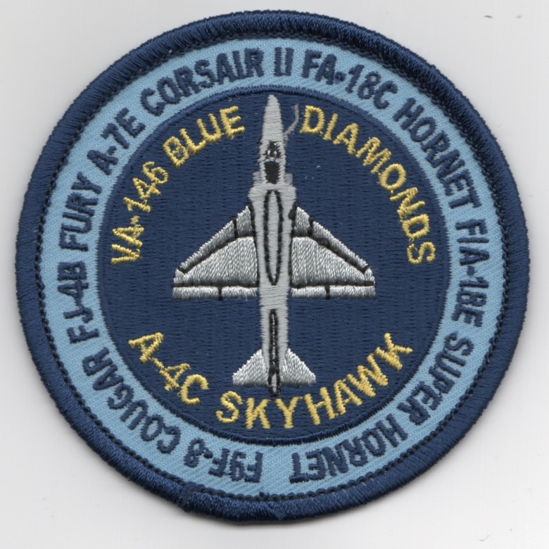 VA-146 'Heritage' Bullet Patch (Blue/A-4C)