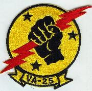 VA-25 Squadron 'Historical' Patch