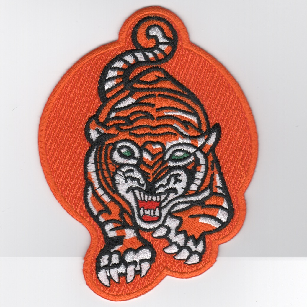 VA-65 'Tiger' Patch (Med/NEON Orange)