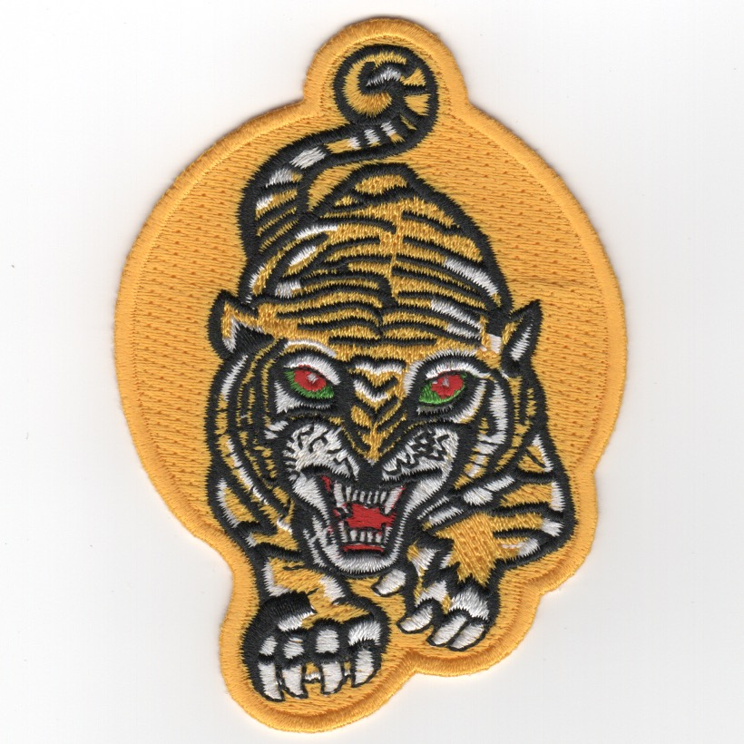VA-65 'Tiger' Patch (Small/Yellow-Yellow)