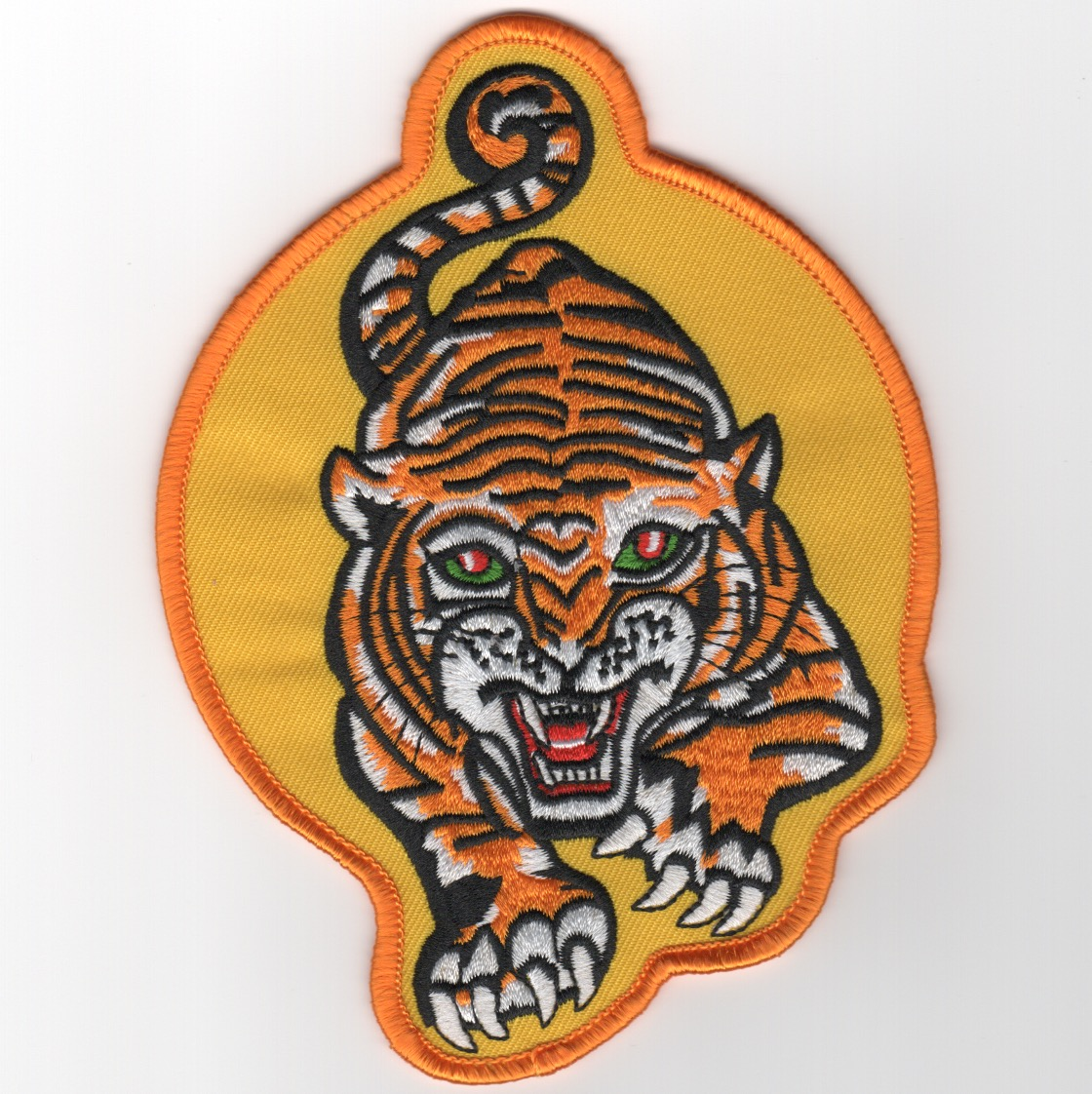 VA-65 'Tiger' Patch (Med/Yellow/Orange Border)