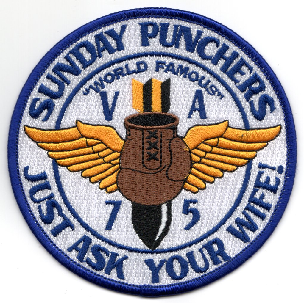 VA-75 'ASK YOUR WIFE' Patch