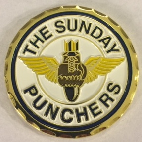 VA-75 'SUNDAY PUNCHER' Coin (Front)