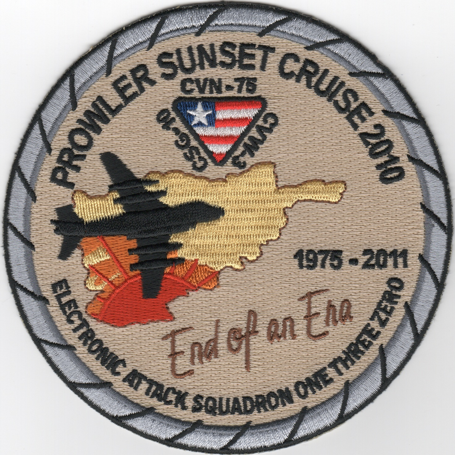 VAQ-130 '2010 Sunset Cruise' Patch