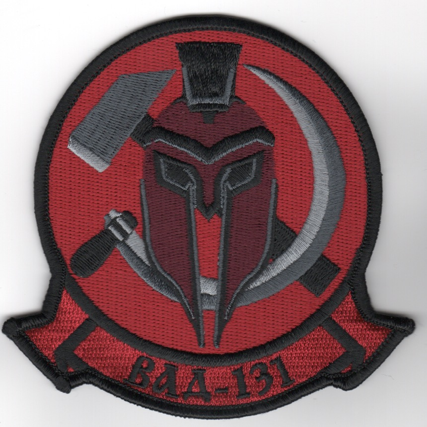 VAQ-131 Squadron Patch (Red Air/NO Velcro)