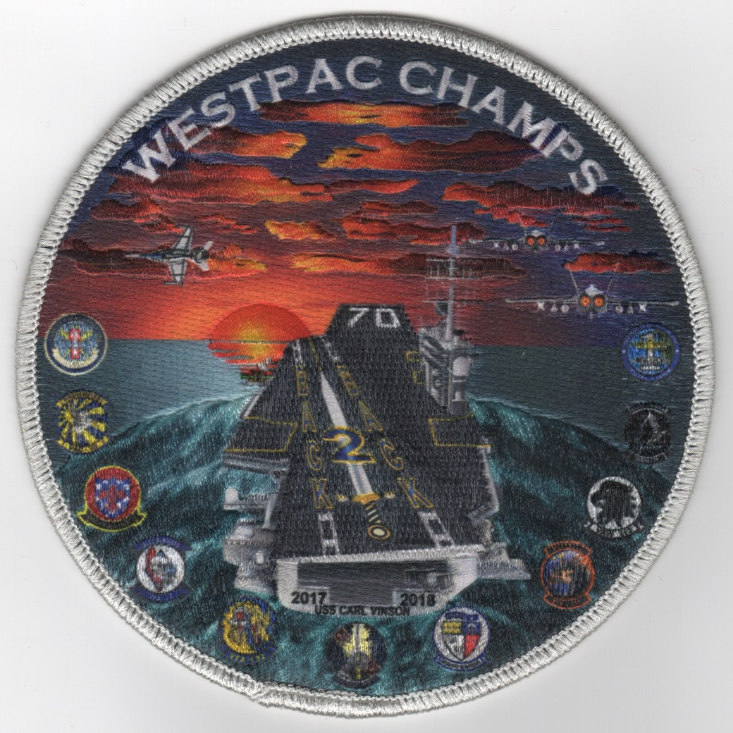 VAQ-136 2018 'Back-2-Back' Cruise Patch