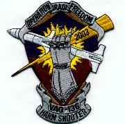VAQ-136 OIF 'Harm Shooter' Patch
