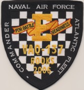 VAQ-137 'E' 2006 Patch