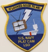 VAQ-137 PLAT CAM LSO Patch