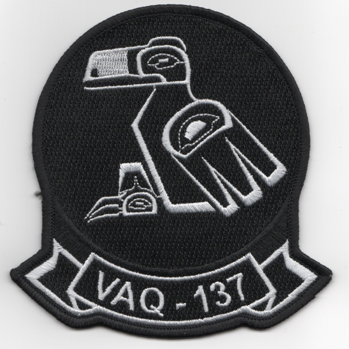 VAQ-137 Squadron Patch (Black)