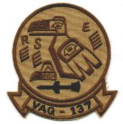 VAQ-137 Squadron Patch (Des w/HARM)