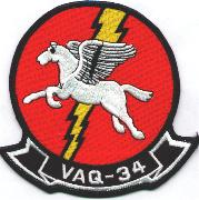 VAQ-34 Squadron Patch (Old Style)