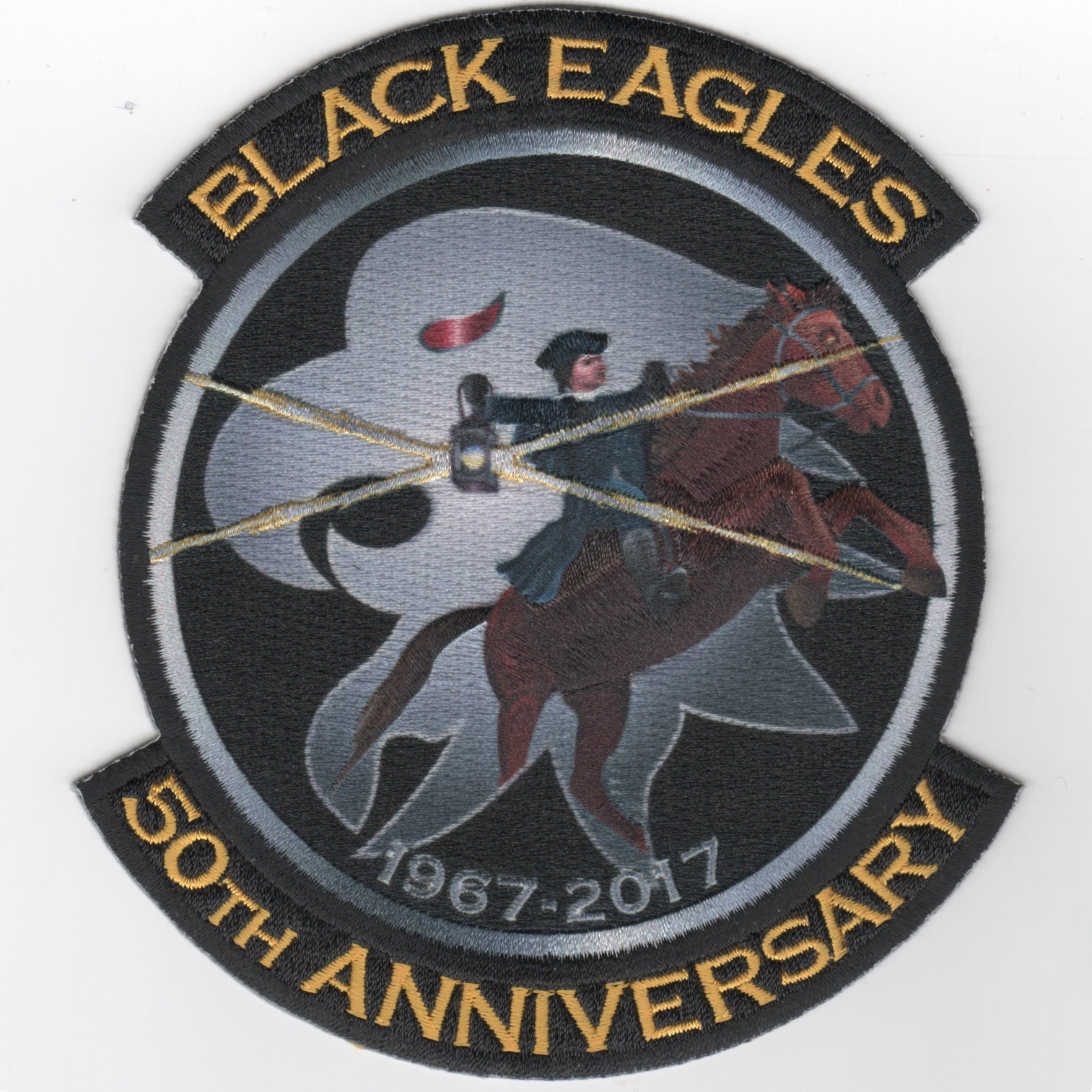 VAW-113 '50th Anniversary' Patch (Black)