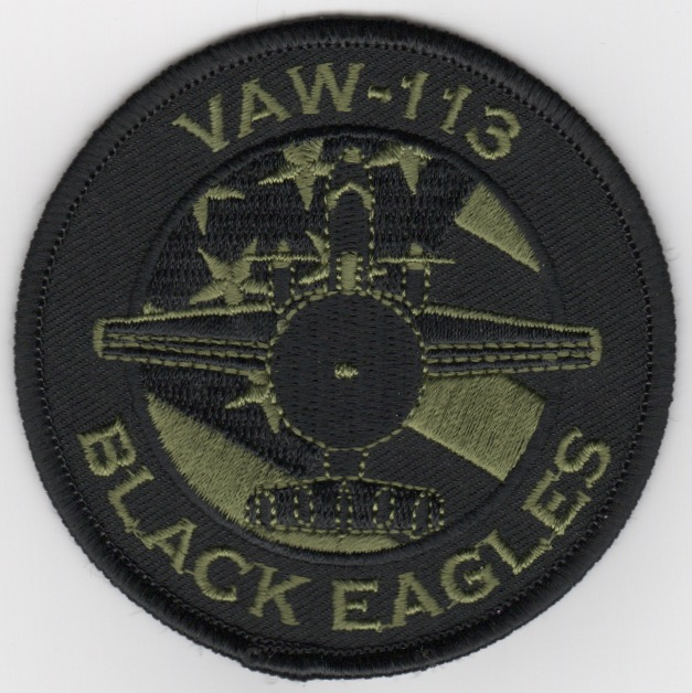 VAW-113 E-2C 'Bullet' Patch (OD Green)