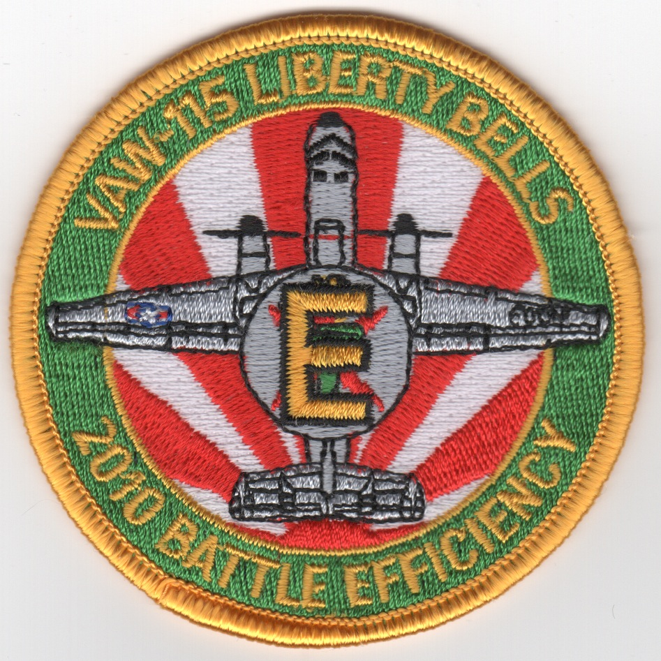 VAW-115 2010 Battle 'E' Patch