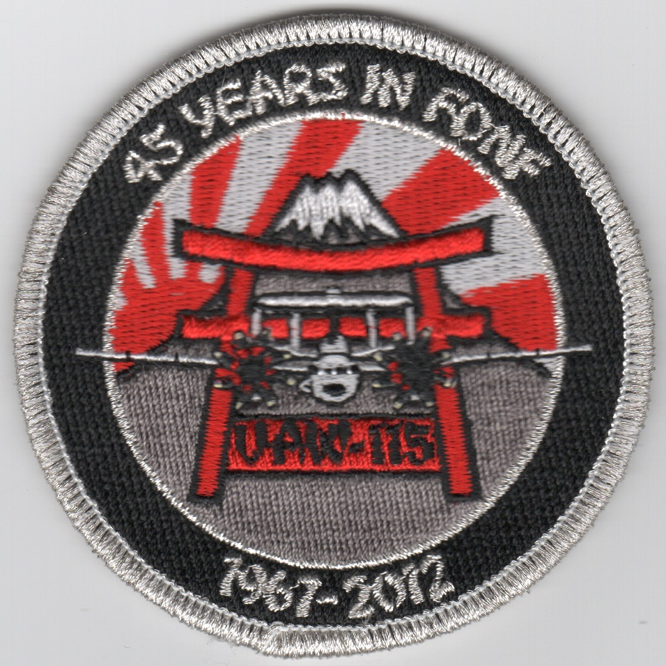 VAW-115 45th Anniversary Patch