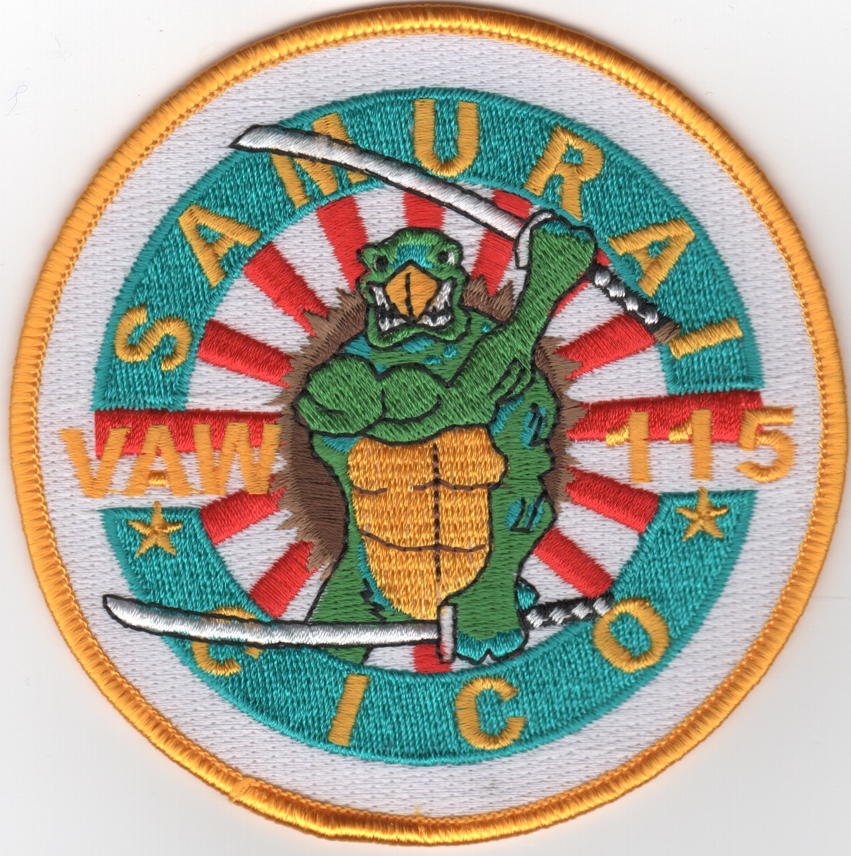 VAW-115 'Samurai Cico' Patch