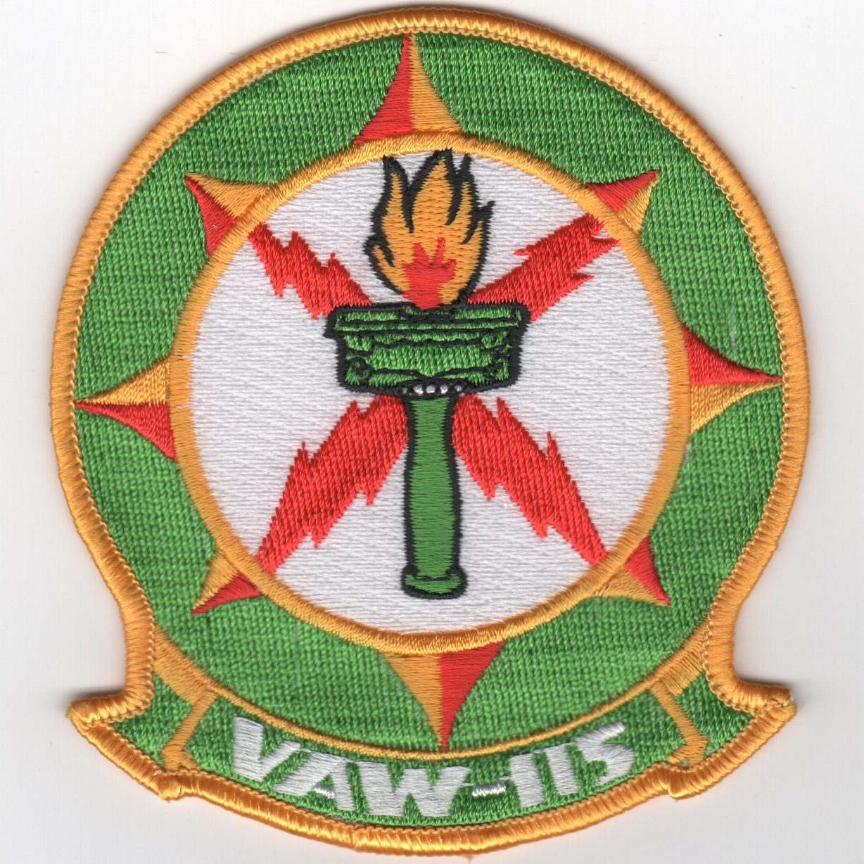 VAW-115 Squadron Patch (Green)