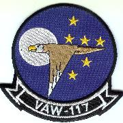 VAW-117 Squadron Patch