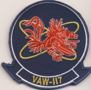 VAW-117 Squadron Patch (NEW)