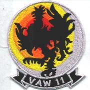 VAW-11 Squadron Patch