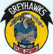 VAW-120 Plane Captain Patch