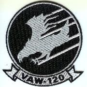 VAW-120 Squadron Patch (Black)