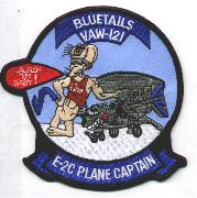 VAW-121 Plane Captain Patch