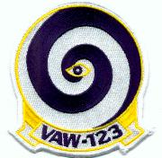 VAW-123 Squadron Patch
