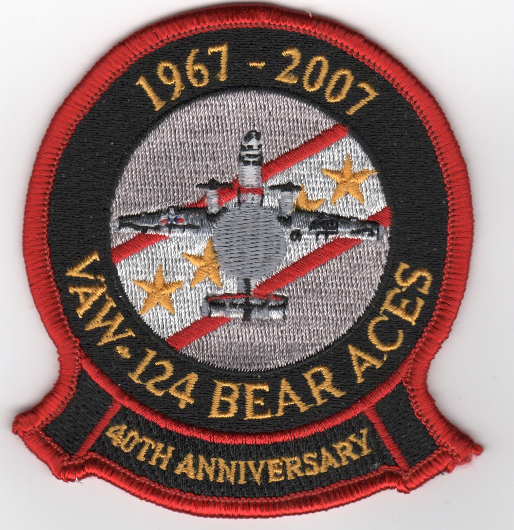 VAW-124 '40th Anniversary' Patch