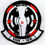 VAW-124 Black-bordered Squadron Patch