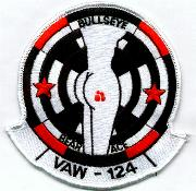 VAW-124 White-bordered Squadron Patch
