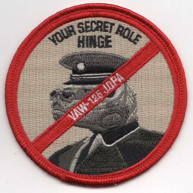 VAW-125 'HINGE' JOPA Patch