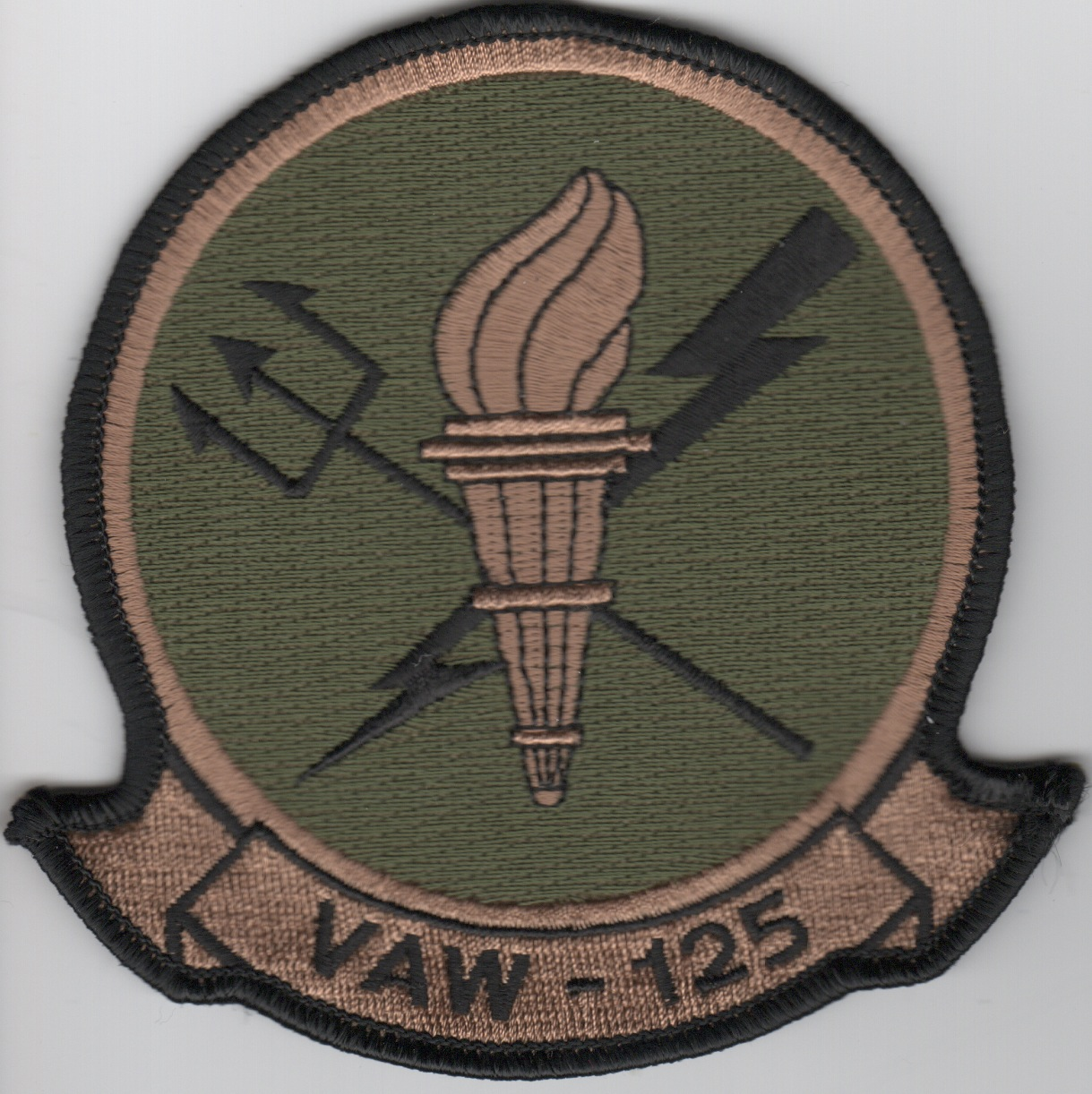 VAW-125 Squadron Patch (Subd)
