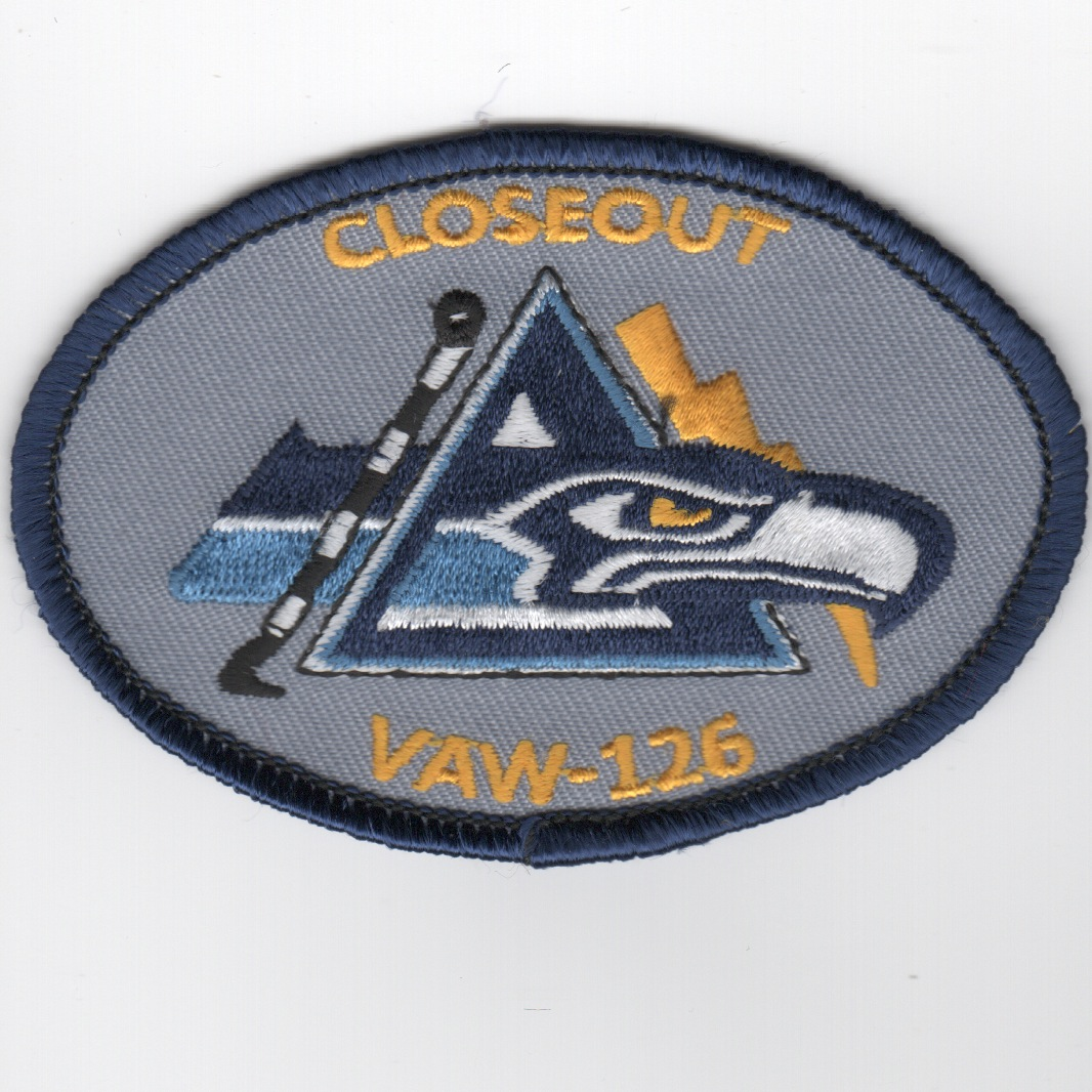 VAW-126 Closeout Patch (Blue)