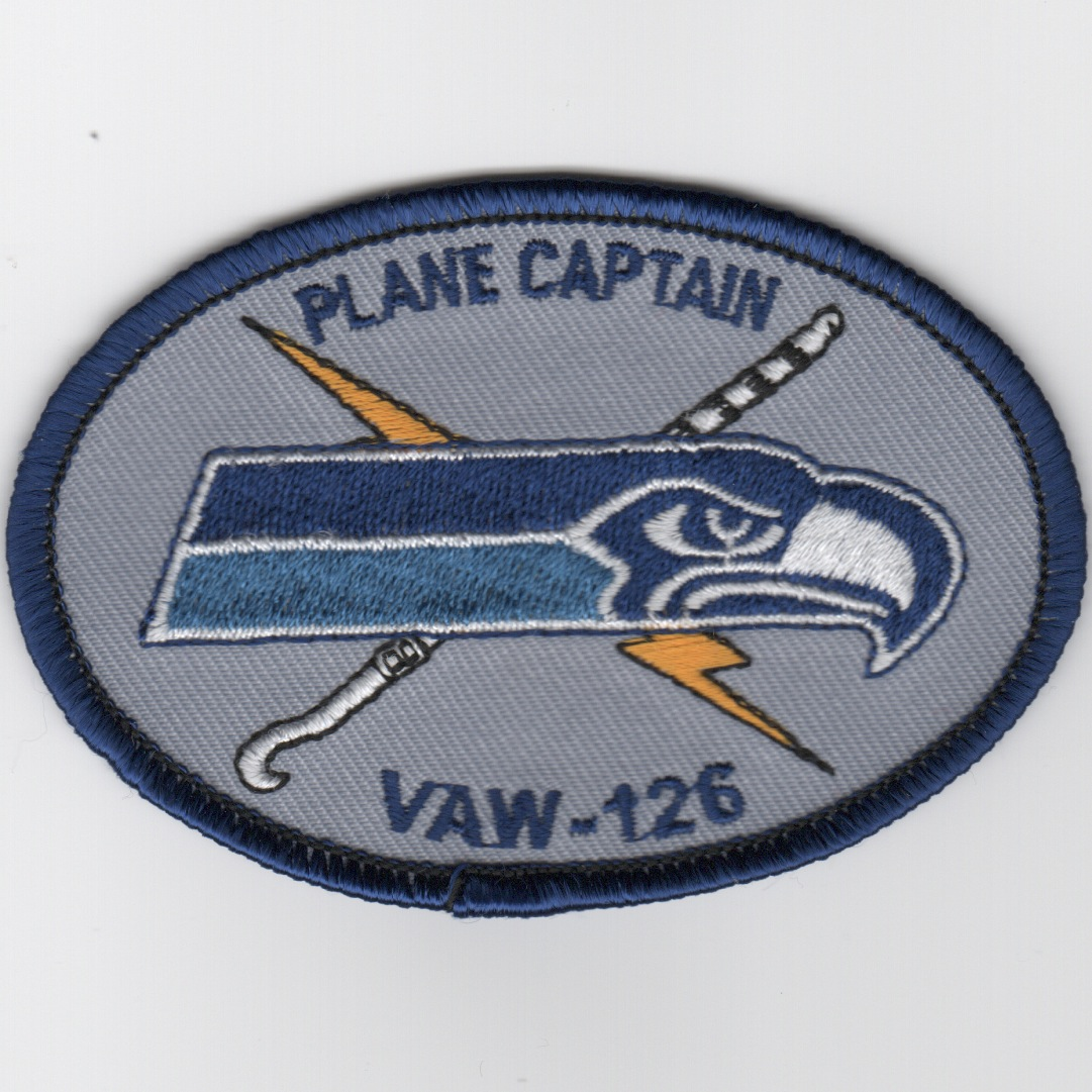 VAW-126 'Plane Captain' Patch (Oval)