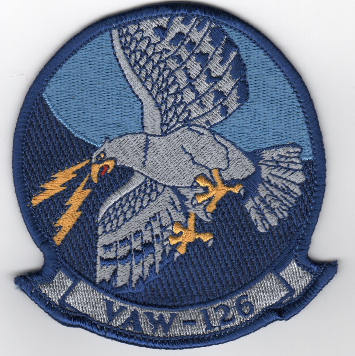 VAW-126 Squadron Patch (Blue Border)
