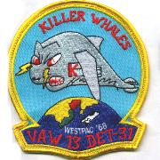 VAW-13 Det-31 WestPac '68 Cruise Patch